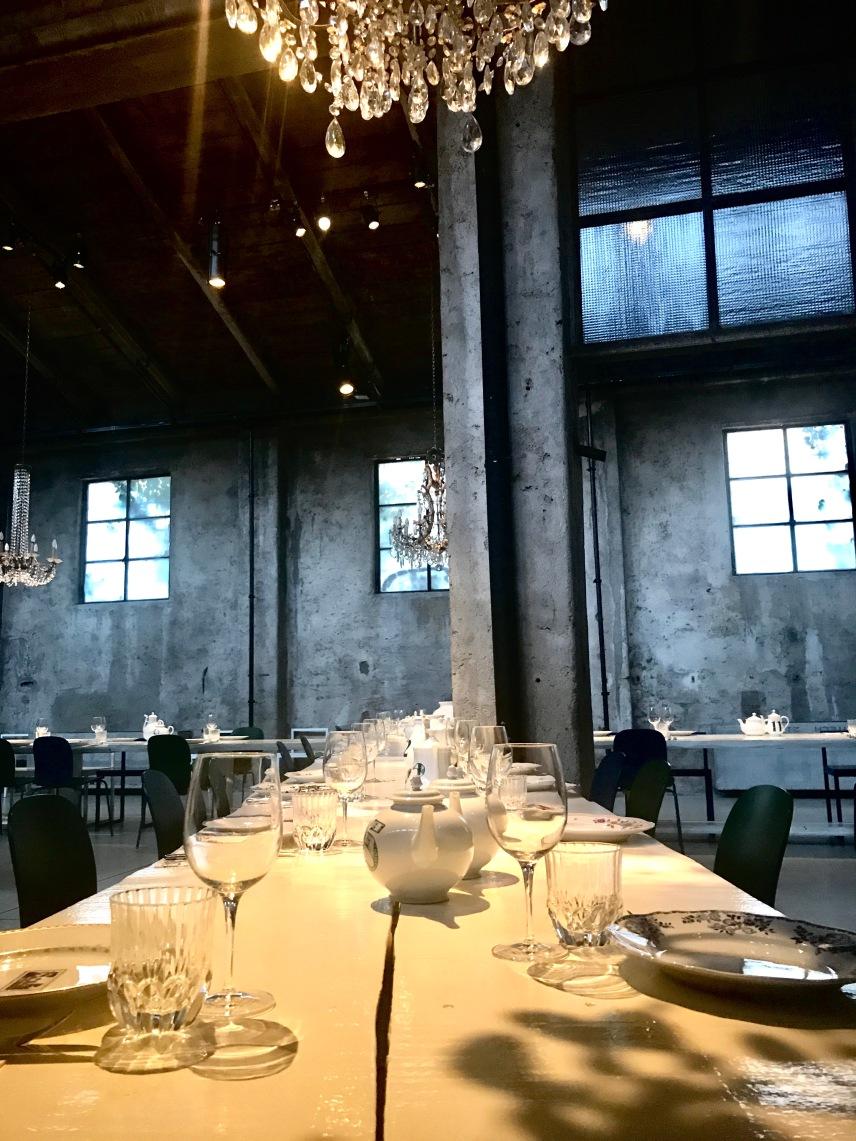 Inside the resstaurant